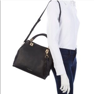 Vince Camuto Black Classic Leather Bag